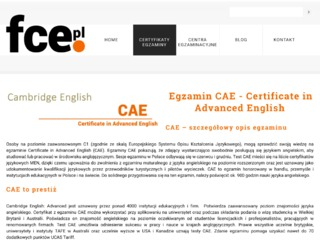 Cambridge Certificate in Advanced English